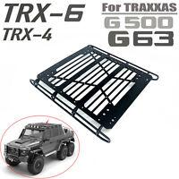 Décoration de porte-bagages métal pour voiture TRAXXAS TRX-4 TRX-6 6X6 G63 G500