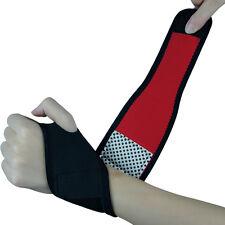 Tourmaline Wrist Strap Self Heating Magnetic Wrist Support Brace Strip Wristband
