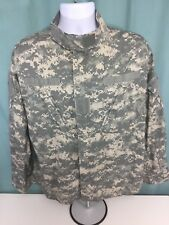 Army Camo Jacket Camouflage Gray USA Military Size Large Short -FREE SHIPPING-