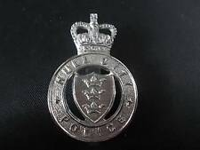 RARE Vintage HULL CITY POLICE Cap or Helmet BADGE Obsolete by Firmin London MINT