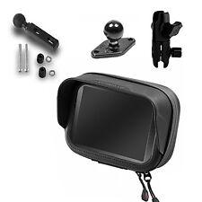 RAM-Mount Halterung Sportmotorrad & wetterfeste Tasche für Navi GPS TomTom