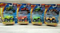 Nickelodeon Blaze & the Monster Machines Lot of 4 Pickle Zeg Blaze Stripes