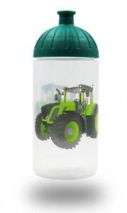 ISYbe Kinder-Trinkflasche, Traktor 0,5L, BPA-frei, auslaufsicher, Kohlensäure ge