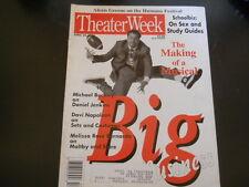 Daniel Jenkins, Big: The Musical - Theater Week Magazine 1996