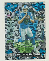 2019 Panini PANINI DAY KICKOFF CRACKED ICE #22 MATT STAFFORD 13/25 Detroit Lions