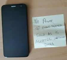 Alcatel One Touch Cell Phone Model A6012A -- Not fully tested -- SOLD AS IS
