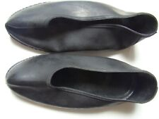 Ussr galoshes Vintage rare Russian black rubber shoes Collectible, 1970s