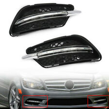 LED Fog Lights DRL Daytime Running Light For Mercedes Benz W204 AMG Sport 08-11