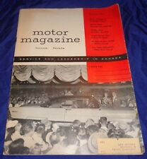 BH1142 Vtg Motor Automotive Magazine Sept 1955 w/ Coca Cola Coke Gas Station Ad