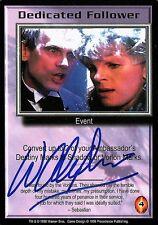 Babylon 5 Ccg Wayne Alexander The Shadows Dedicated Follower Autographed