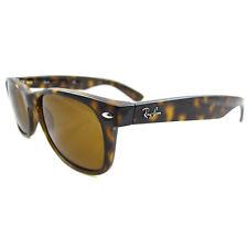 Ray-Ban Sunglasses New Wayfarer 2132 710 Light Havana Brown Small 52mm