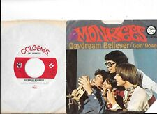 MONKEES * 45 * Daydream Believer * 1966 * VG+/VG++ Vinyl * USA ORIGINAL with PS