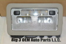 Cadillac GMC Chevrolet Overhead Dome Light Lamp Assembly Gray new OEM 15940150