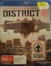 *New & Sealed* District 9 (Blu-ray, 2009) Region B AUS - Was $34.98 from JB Hifi