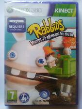 RABBIDS VIVITOS & OKUPANDO EL SALÓN. JUEGO XBOX 360. REQUIERE KINECT. ESP.NUEVO.