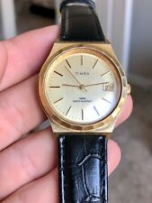Vintage Men's Timex Gold Mechanical Hand Wind Watch