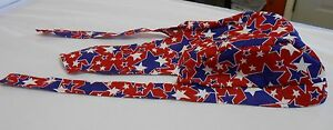 Margie's Doo-rags, Skullcaps  Red with Blue and White Stars