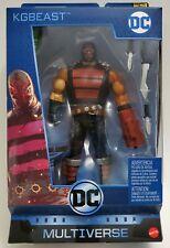 DC Multiverse Wave 12 KGBEAST KG Beast Killer Croc CNC BAF Mattel