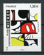 France 2018 MNH Mickey Mouse 90th Anniv 1v Set Disney Cartoons Art Stamps