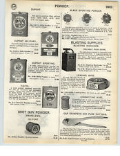 1935 PAPER AD 4 PG Dupont Dynamite Blasting Machine Fuse Wire Red Cross Powder