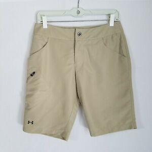 Under Armour Performance Womens Polyester Golf Shorts Size 4 EUC  - W426P