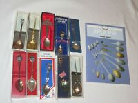 Lot of Souvenir Spoons Vintage Travel Memorabilia (R220)