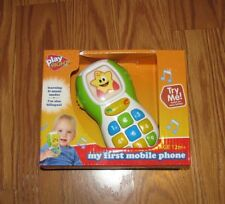NIP Play Right My First Mobile Phone Green NEW