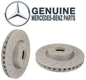 Front Brake Rotor API P895BJ for Mercedes E350 E550 2010 2011 2012 2013