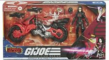 GI JOE Classified Series BARONESS with COBRA COIL BIKE TARGET EXCLUSIVE IN HAND