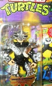 Teenage Mutant Ninja turtles SHOGUN SHREDDER 1994 vintage tmnt moc playmates