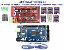 AU 3D Printer Kit MEGA2560 Module+RAMPS 1.4+5*DRV8825 Module For Arduino RepRap