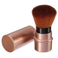 NEU Einziehbare Blush Brush Foundation Puder Rouge Make up Pinsel mit Kappe~