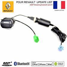 Câble AUX MP3 Bluetooth Renault Clio 3 Clio 2 Megane 2 Laguna Scenic 2 Modus