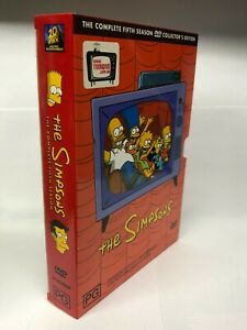 The Simpsons - Complete Fifth Season - 4 DVD Box Set - AusPost with Tracking