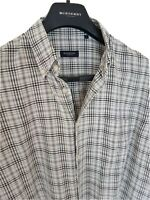 Mens chic LONDON by BURBERRY long sleeve shirt size large. RRP £175.