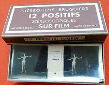 REVUE DU TABARIN - Le Gai Paris - stéréofilms Bruguière 12 positifs n°730
