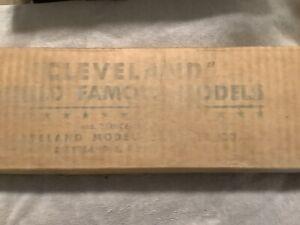 VINTAGE 1940's  CLEVELAND MODELS F-80 LOCKHEED SHOOTING STAR BALSA KIT UNUSED