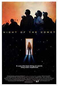 """NIGHT OF THE COMET Movie Poster [Licensed-NEW-USA] 27x40"""" Theater Size"""