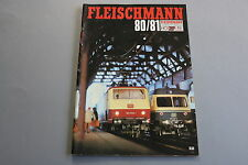 X056 FLEISCHMANN Train catalogue Ho N Rallye Monte Carlo 1980 81 88 pages F