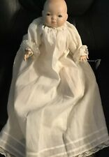 "16"" Bisque Grace S Putnam Bye Lo Baby Doll Vtg Repro"