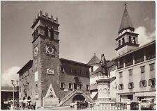PIEVE DI CADORE m.900 - PIAZZA TIZIANO E MUNICIPIO (BELLUNO) 1966