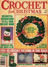 ~ ~ ~ CHRISTMAS CROCHET ~ 1987 ~ OVER 60 EXCELLENT PATTERNS ~ ~ ~