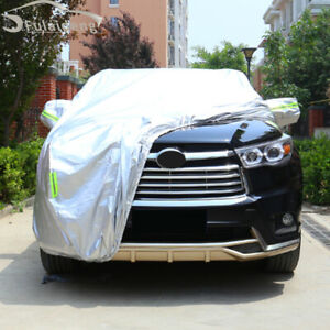 For Toyota Highlander 2015-19 Car Cover Dustproof Anti UV Vehicle Scratch Proof