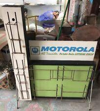 VTG Mid Century 1960s EXTREMELY RARE MOTOROLA Transistor Radio Sign Display