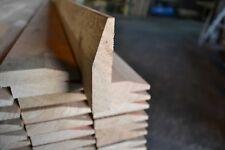 "Oak Skirting 1x4"" PAR to Radius Chamfer 20x95mm - Solid White Oak"