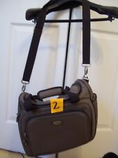 DOCKERS BROWN TOTE OVERNIGHT CARRY CASE WEEKENDER GYM BAG MANY SECTIONS PERFECT!