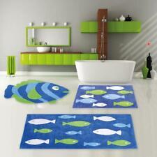 Badematte Badvorleger Badteppich Badezimmer Fußmatte Duschvorleger Teppich Fisch