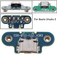 Für Beats By Dre Studio 2 Ladegerät Hafen Teil Micro USB Ersatz Wired Wireless