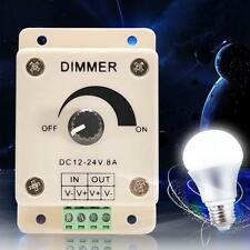 PWM Dimmer Controller LED Light Lamp Strip Adjustable Brightness 12V-24V 8A-New