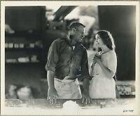 Wallace Beery + ZaSu Pitts 1928 Vintage STILL PHOTO Wife Savers 631-299